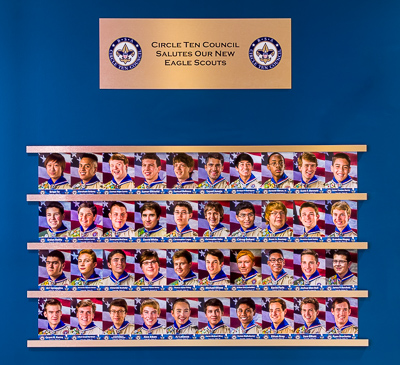 Circle Ten Council's Eagle Scout Wall of Honor